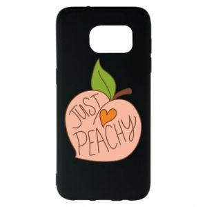 Etui na Samsung S7 EDGE Just peachy