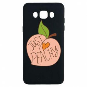 Etui na Samsung J7 2016 Just peachy