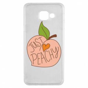 Etui na Samsung A3 2016 Just peachy