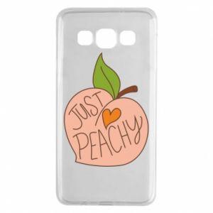 Etui na Samsung A3 2015 Just peachy