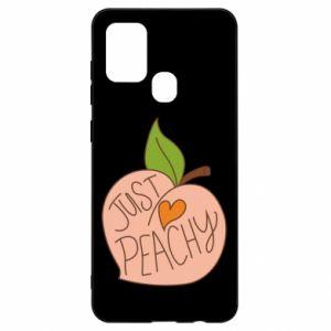 Etui na Samsung A21s Just peachy