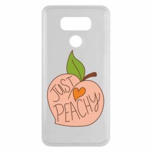 Etui na LG G6 Just peachy