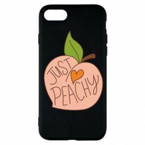 Etui na iPhone SE 2020 Just peachy