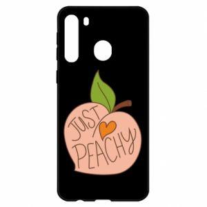 Etui na Samsung A21 Just peachy