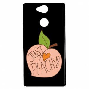 Etui na Sony Xperia XA2 Just peachy