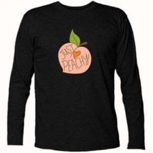 Koszulka z długim rękawem Just peachy