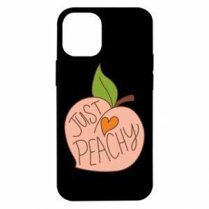 Etui na iPhone 12 Mini Just peachy