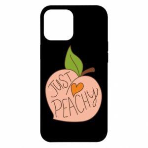 Etui na iPhone 12 Pro Max Just peachy