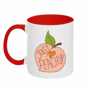 Kubek dwukolorowy Just peachy