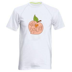 Koszulka sportowa męska Just peachy