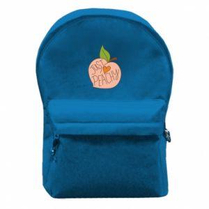 Plecak z przednią kieszenią Just peachy
