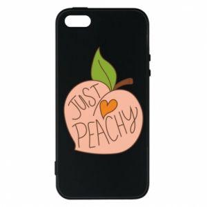 Etui na iPhone 5/5S/SE Just peachy