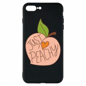 Etui na iPhone 8 Plus Just peachy