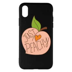 Etui na iPhone X/Xs Just peachy
