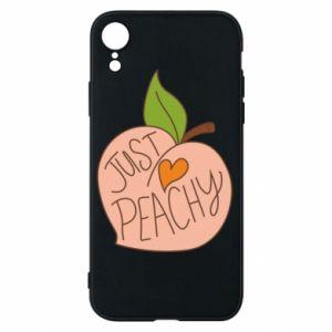 Etui na iPhone XR Just peachy