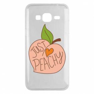 Etui na Samsung J3 2016 Just peachy