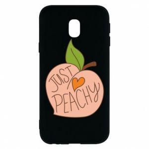 Etui na Samsung J3 2017 Just peachy