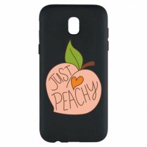 Etui na Samsung J5 2017 Just peachy