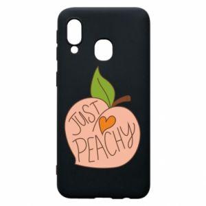 Etui na Samsung A40 Just peachy
