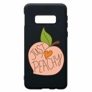 Etui na Samsung S10e Just peachy
