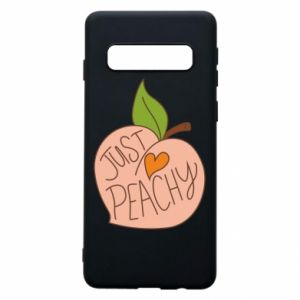 Etui na Samsung S10 Just peachy