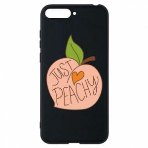 Etui na Huawei Y6 2018 Just peachy
