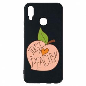 Etui na Huawei P Smart Plus Just peachy