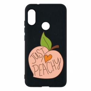 Etui na Mi A2 Lite Just peachy