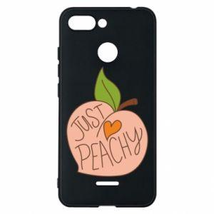 Etui na Xiaomi Redmi 6 Just peachy