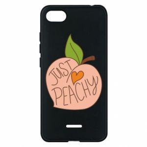 Etui na Xiaomi Redmi 6A Just peachy
