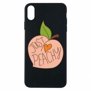 Etui na iPhone Xs Max Just peachy