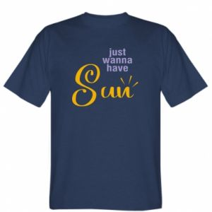 Koszulka męska Just wanna have sun