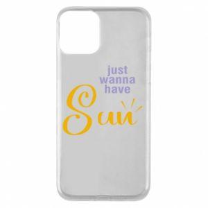 Etui na iPhone 11 Just wanna have sun
