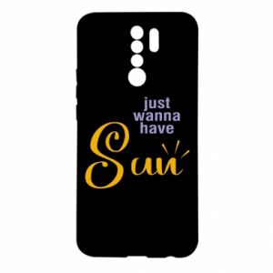 Etui na Xiaomi Redmi 9 Just wanna have sun