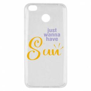 Etui na Xiaomi Redmi 4X Just wanna have sun