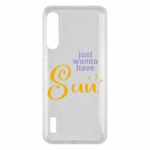 Etui na Xiaomi Mi A3 Just wanna have sun