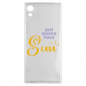 Etui na Sony Xperia XA1 Just wanna have sun