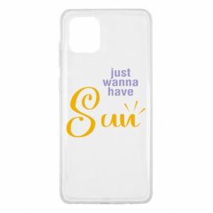 Etui na Samsung Note 10 Lite Just wanna have sun