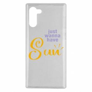 Etui na Samsung Note 10 Just wanna have sun