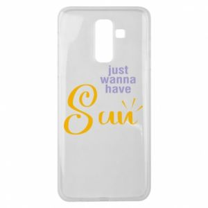 Etui na Samsung J8 2018 Just wanna have sun