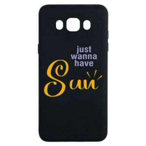Etui na Samsung J7 2016 Just wanna have sun