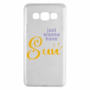 Etui na Samsung A3 2015 Just wanna have sun