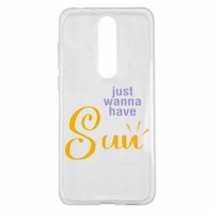 Etui na Nokia 5.1 Plus Just wanna have sun