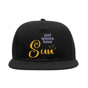 Snapback Just wanna have sun