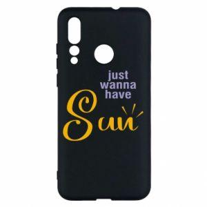 Etui na Huawei Nova 4 Just wanna have sun