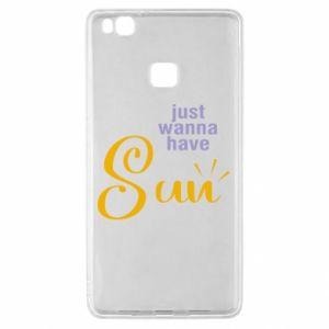 Etui na Huawei P9 Lite Just wanna have sun