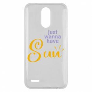 Etui na Lg K10 2017 Just wanna have sun