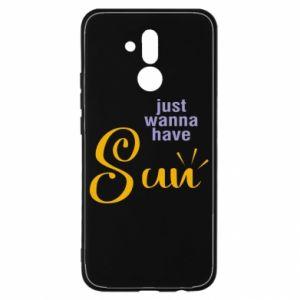 Etui na Huawei Mate 20 Lite Just wanna have sun