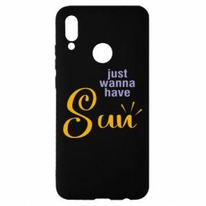 Etui na Huawei P Smart 2019 Just wanna have sun
