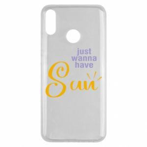Etui na Huawei Y9 2019 Just wanna have sun
